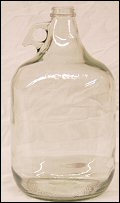 128 oz. / 1 gallon Flint/Clear  Glass Jug